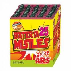 Batería Pequeña Misiles 25 disparos