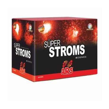 Batería Grande Súper-Stroms 48 disparos